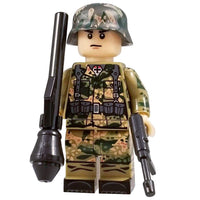 Minifig World War II German SS Dot CAMO Soldier Ralf - Minifigs