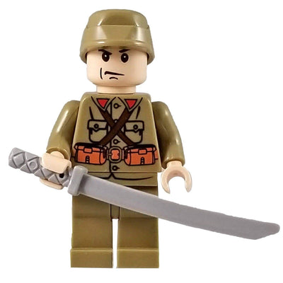 Minifig World War II Japanese Officer-Brick Forces