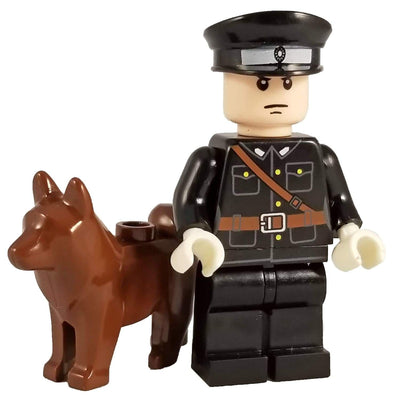 Minifig World War II Japanese Officer with Dog - Minifigs