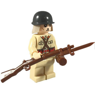 Minifig World War II Japanese Soldier-Brick Forces