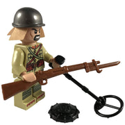 Minifig World War II Japanese Soldier Haruki-Brick Forces