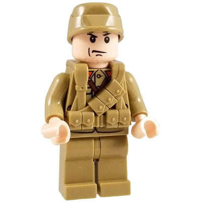 Minifig World War II Japanese Soldier Hiroo - Minifigs