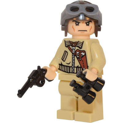 Minifig World War II Marine Aviator Pilot Chuck-Brick Forces