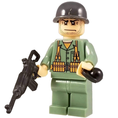 Minifig World War II Marine James - Minifigs
