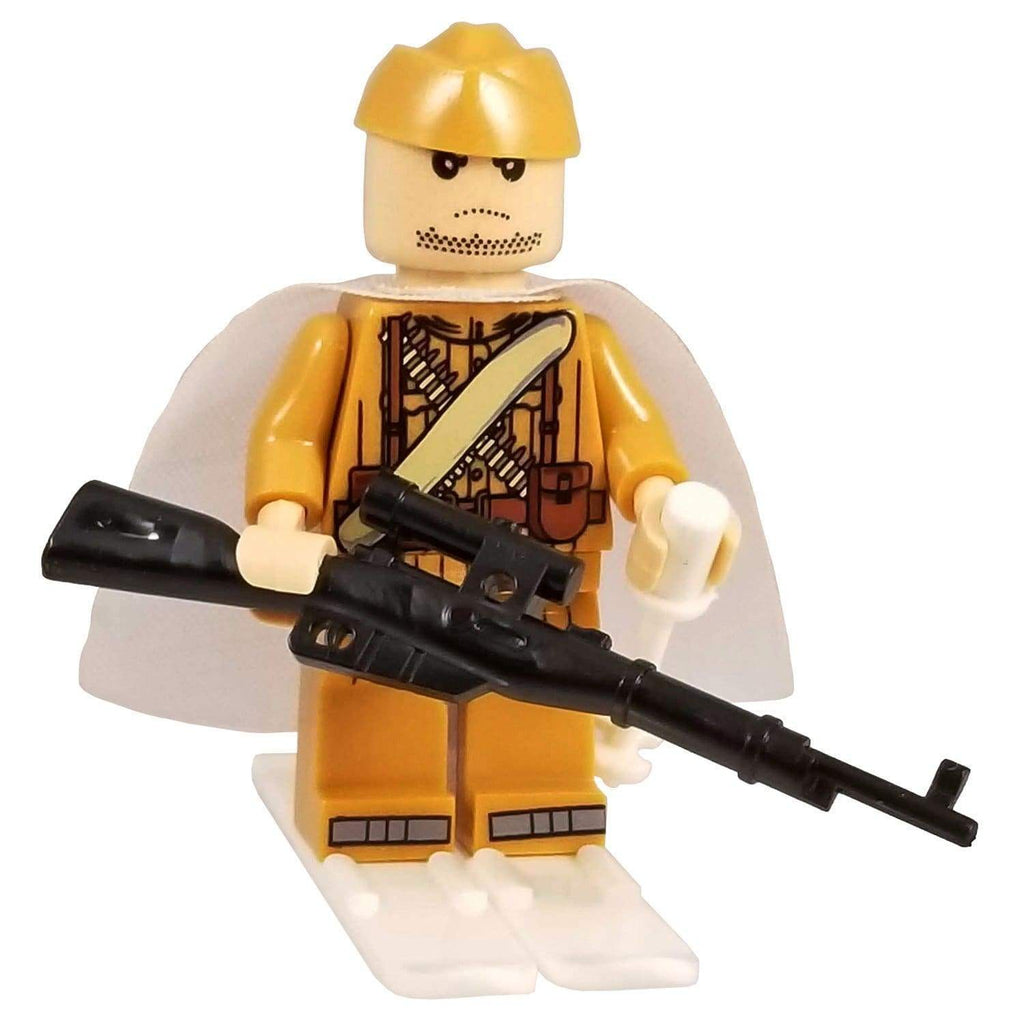 Minifig World War II Russian Eastern Front Yuri - Minifigs