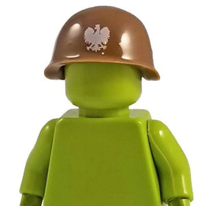 Minifig World War II Soviet Helmet Brown - Headgear