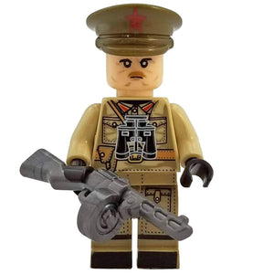Minifig World War II Soviet Officer Kungurtsev - Minifigs