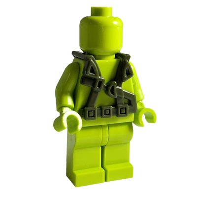 Minifig World War OD Green Harness 1 - Vests