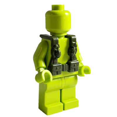 Minifig World War OD Green Harness 2 - Vests