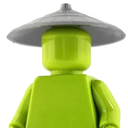 Minifig Asian Conical Hat - Grey - Headgear