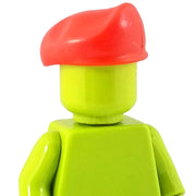Minifig Red Beret - Headgear
