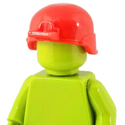 Minifig Red Ballistic Helmet - Headgear