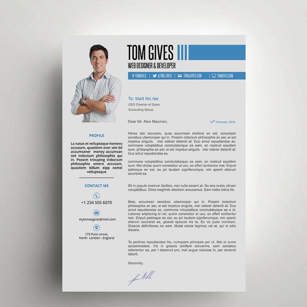 "Resume) Templates On Word ""CLEAN"