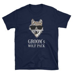 Bachelor Party Groom's Wolf Pack Short-Sleeve Unisex T-Shirt