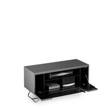 Steel Legs IR Friendly Door TV Stand GREY-7