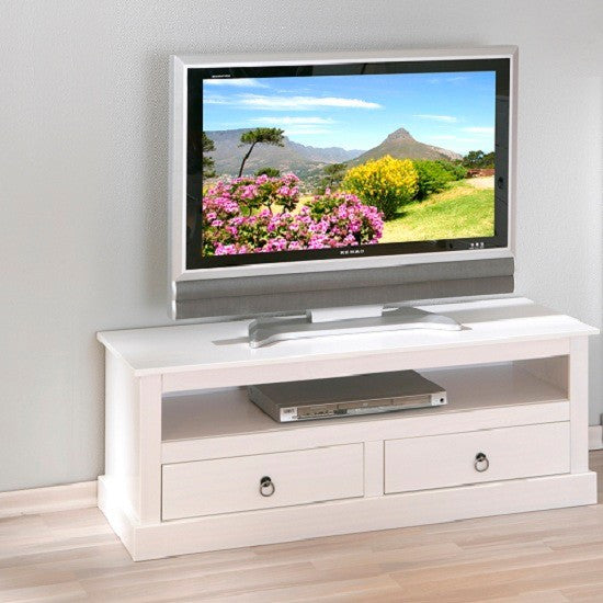 Honolulu LCD TV Stand in White