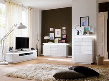 Florida Low board LCD TV Stand with 5 Drawers Collection