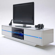 White High Gloss TV Stand2