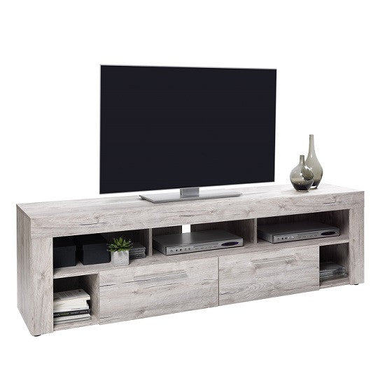 Fabulous Chapel Lcd Tv Stand In Sand Oak Tvcabinets Co Uk Machost Co Dining Chair Design Ideas Machostcouk