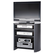 Curved Sides Four Shelf Smooth Edges TV Stand-6