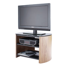 Dual Shelf Flat Surface Steel Support Entertainment TV Unit-1