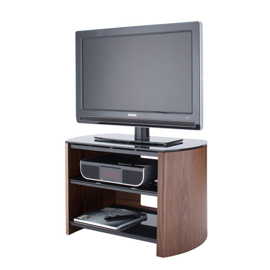 Dual Shelf Flat Surface Steel Support Entertainment TV Unit