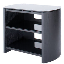 Dual Shelf Flat Surface Steel Support Entertainment TV Unit-3