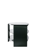 Dual Toughened Glass Shelf TV Stand Black 4