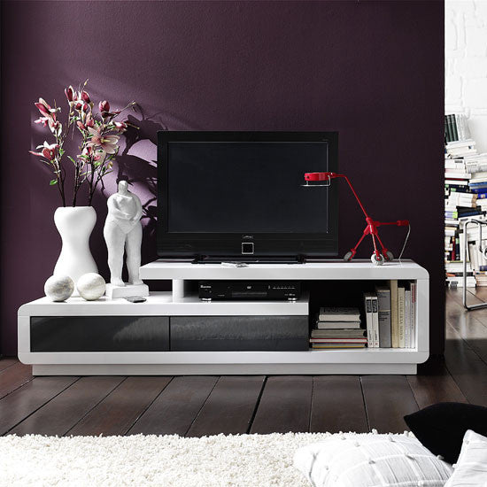 Francisco High Gloss Plasma TV Console