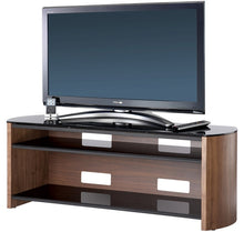 Curved Sides Glass Shelf TV Cabinet-6