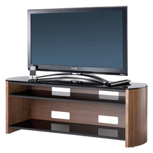 Curved Sides Glass Shelf TV Cabinet-7