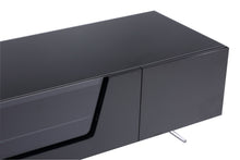 Large TV Stand With Two Shelf And One Drawer-2