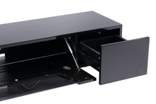Large TV Stand With Two Shelf And One Drawer-3