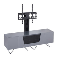 Large TV Stand With Two Shelf And One Drawer Grey-1