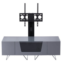 Large TV Stand With Two Shelf And One Drawer Grey-5