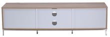 Medium Two open and 4 Covered Shelf Medium Size TV Stand-8