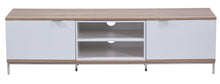 Medium Two open and 4 Covered Shelf Medium Size TV Stand-9