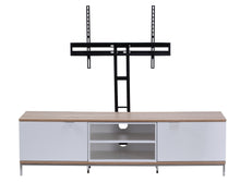 Medium Two open and 4 Covered Shelf Medium Size TV Stand