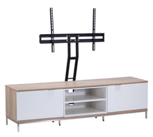 Medium Two open and 4 Covered Shelf Medium Size TV Stand-7
