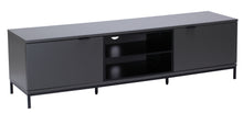 Medium Two open and 4 Covered Shelf Medium Size TV Stand-2
