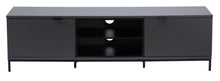 Large Big Size With spacious storage option and Flip down doors TV Stand-7