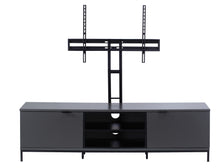 Medium Two open and 4 Covered Shelf Medium Size TV Stand-3