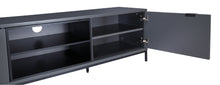 Medium Two open and 4 Covered Shelf Medium Size TV Stand-5