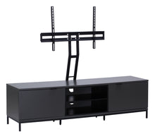 Large Big Size With spacious storage option and Flip down doors TV Stand-5