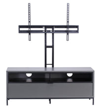 Small Complete wooden Structure With 4 storage Racks TV Stand-4