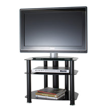 Modern all glass TV stand-3