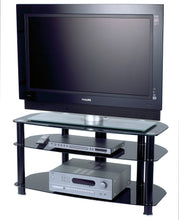 Small but spacious Full glass TV cabinet-2