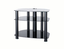 Modern all glass TV stand-1