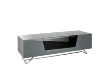 Steel frame Sturdy Legs Medium TV Cabinet Grey 2