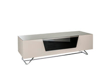 Steel frame Sturdy Legs Medium TV Cabinet Ivory 3